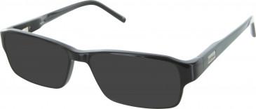 Barbour B030 sunglasses in Black