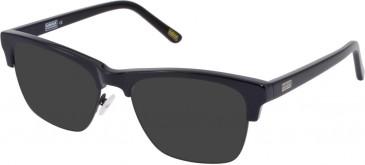 Barbour BI-027-54 sunglasses in Black