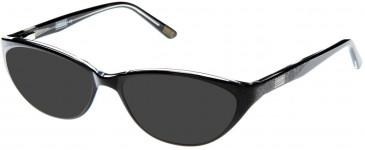 Barbour BI-017 sunglasses in Black