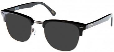 Barbour BI-011-50 sunglasses in Black