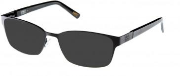 Barbour BI-010-57 sunglasses in Black
