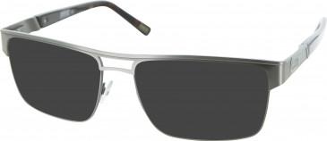 Barbour BI008 sunglasses in Pewter