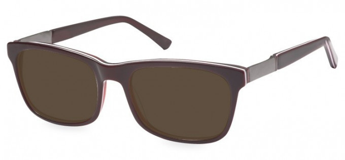 Sunglasses in Red/Clear Red