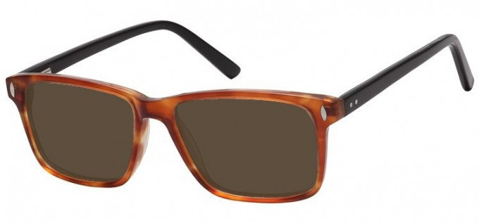 Sunglasses in Clear Brown
