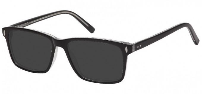 Sunglasses in Black/Clear