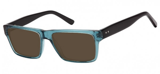 Sunglasses in Clear Turquoise