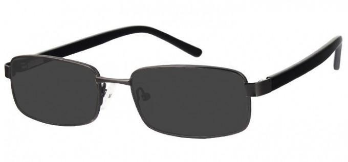 Sunglasses in Matt Dark Gunmetal