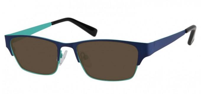 Sunglasses in Blue/Green
