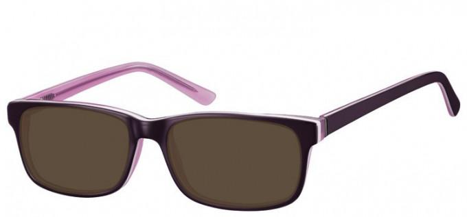 Sunglasses in Purple