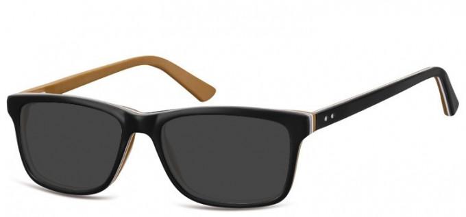 Sunglasses in Black/Brown