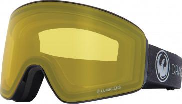 Dragon Snow Goggle DR PXV PH sunglasses in Grey/Photochromic Yellow Lens