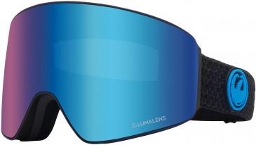Dragon Snow Goggle DR PXV BONUS sunglasses in Black/Blue