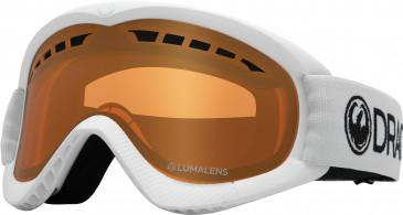 Dragon Snow Goggle DR DXS 6 sunglasses in White/Amber