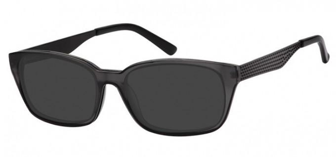 Sunglasses in Matt Grey/Black