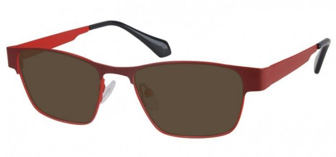Sunglasses in Burgundy/Red