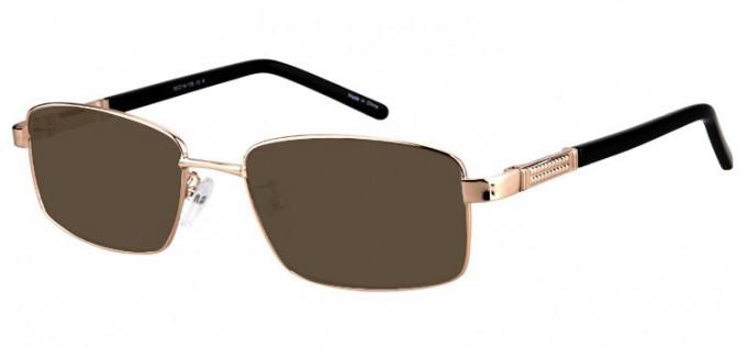 Sunglasses in Gold