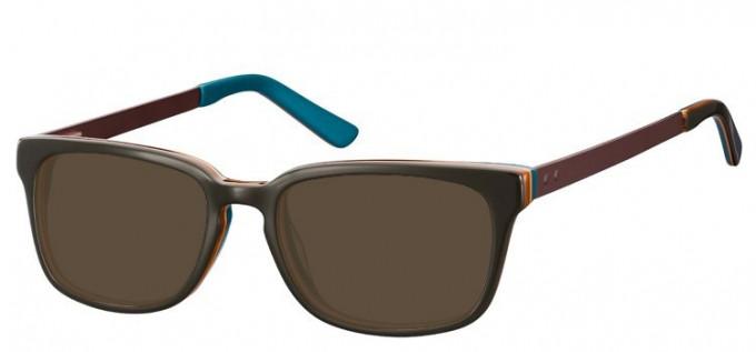 Sunglasses in Dark Green/Petrol