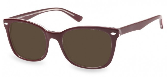 Sunglasses in Red/Clear