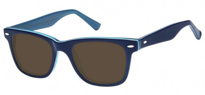 Sunglasses in Blue/Clear