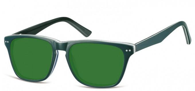 Sunglasses in Green/Blue