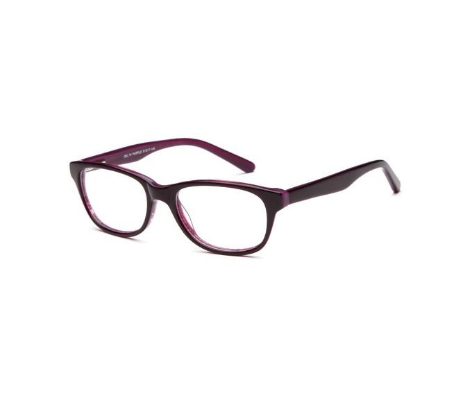 SFE reading glasses in Purple