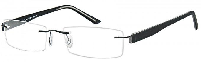 SFE reading glasses in Matt Black