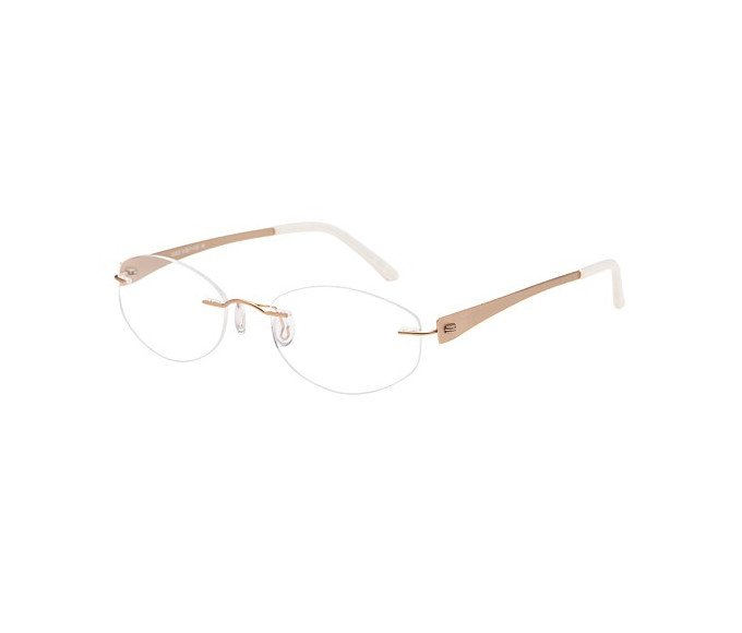 SFE reading glasses in Gold
