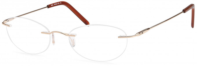 SFE reading glasses in Gold