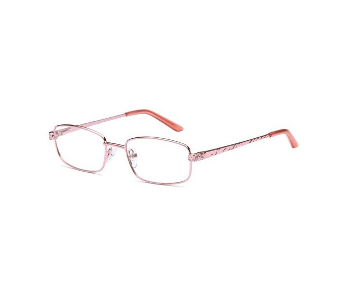 SFE reading glasses in Pink
