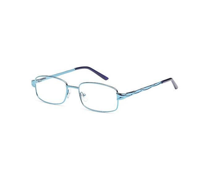 SFE reading glasses in Light Blue