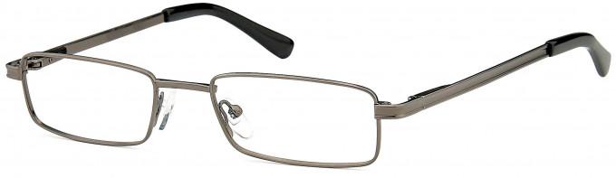 SFE reading glasses in Matt Gunmetal