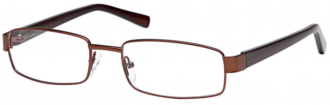 SFE reading glasses in Bronze