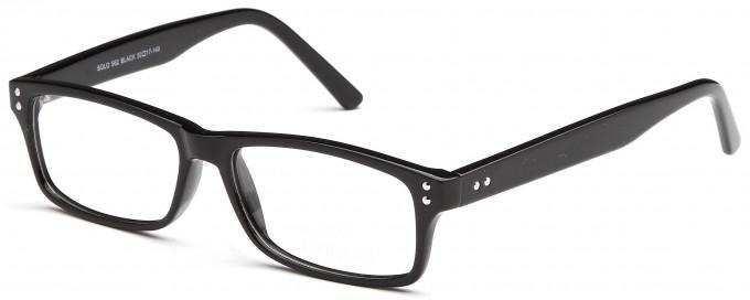 SFE reading glasses in Black