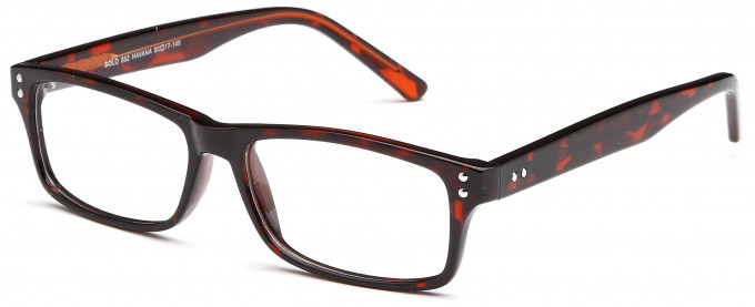 SFE reading glasses in Havana