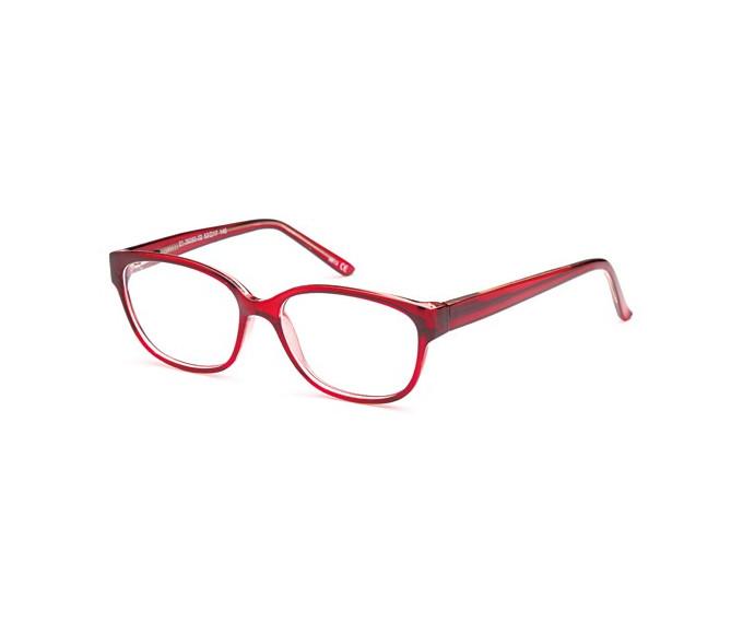 SFE reading glasses in Burgundy