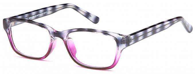 SFE reading glasses in Blue/Purple