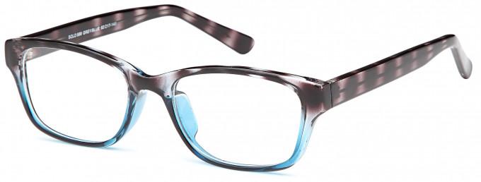 SFE reading glasses in Grey/Blue