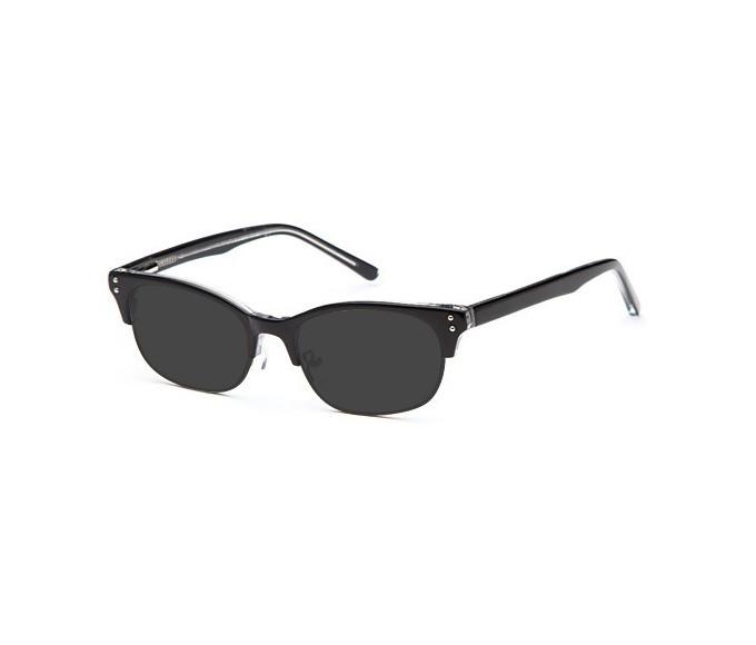 SFE sunglasses in Black/Crystal