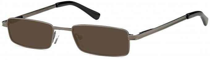 SFE sunglasses in Matt Gunmetal