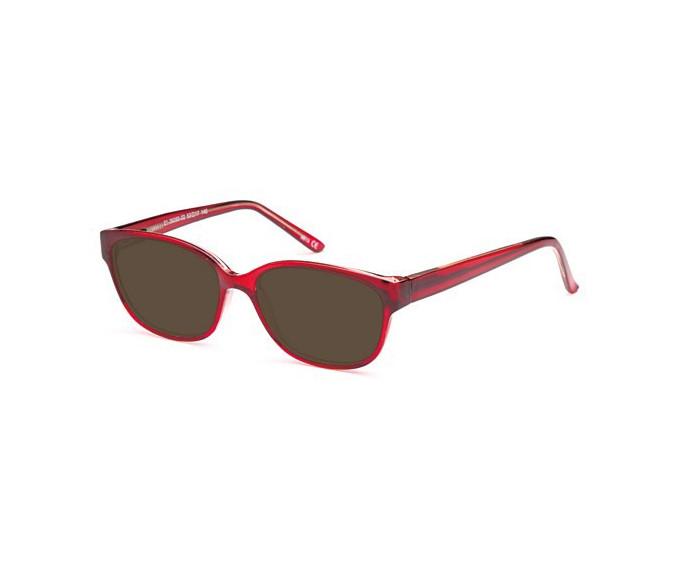 SFE sunglasses in Burgundy