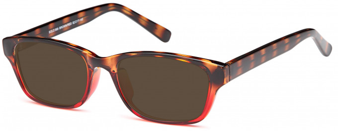 SFE sunglasses in Brown/Red