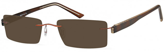 SFE reading sunglasses in Brown