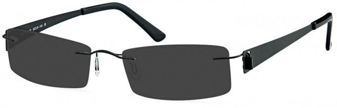 SFE reading sunglasses in Black
