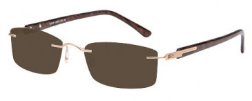 SFE Small Metal Ready-Made Reading Sunglasses