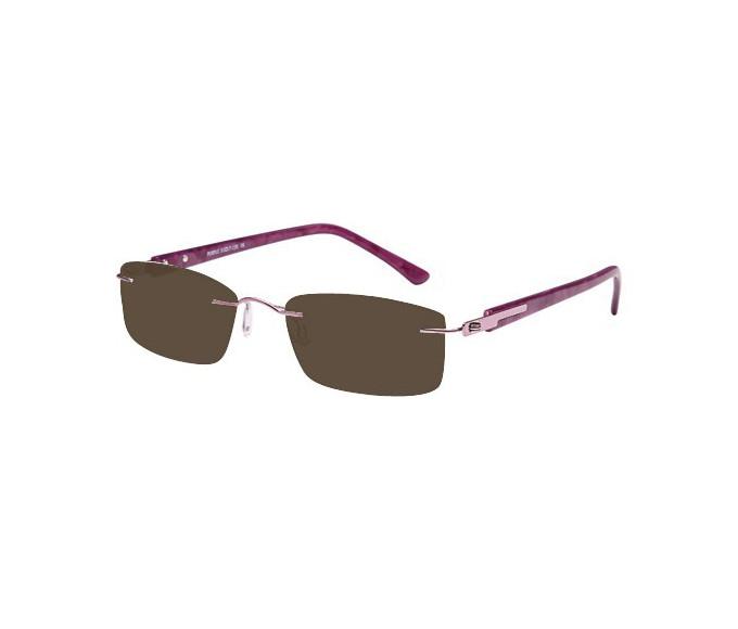 SFE reading sunglasses in Purple
