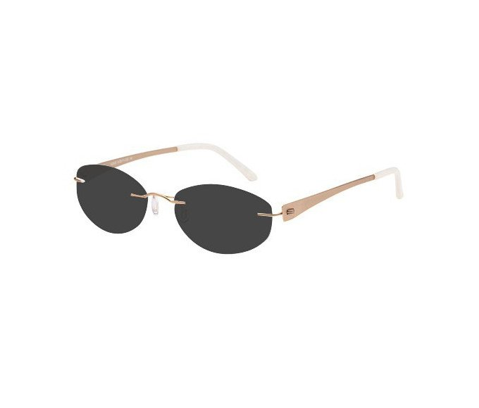 SFE reading sunglasses in Gold
