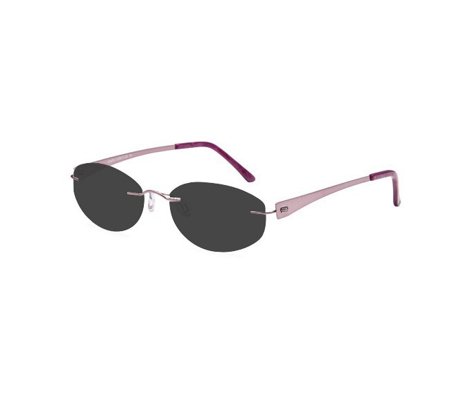 SFE reading sunglasses in Purple