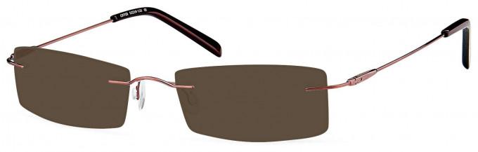 SFE reading sunglasses in Copper