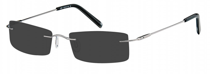 SFE reading sunglasses in Gunmetal