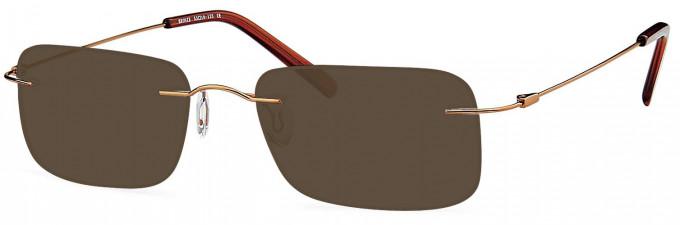 SFE reading sunglasses in Bronze